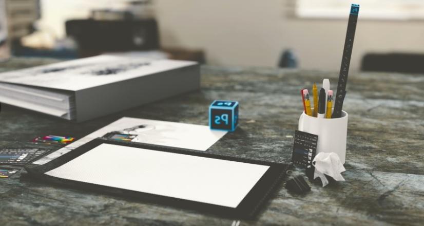 mesa de luz para dibujar